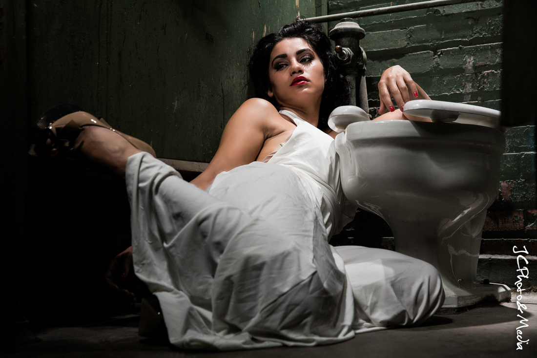 JC Photo & Media   Sahrye - Glamour In Abandoned Spaces